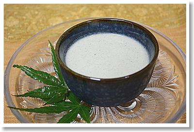 黒ごま味噌豆腐