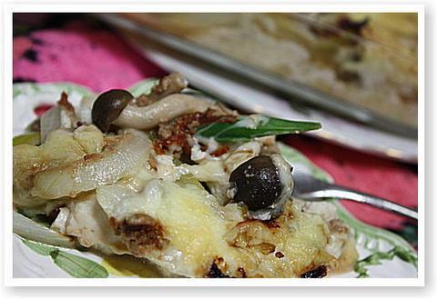 豆腐・クルミ・味噌グラタン