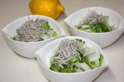 ゴーヤとかぶのサラダ