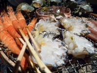 海鮮炭焼き