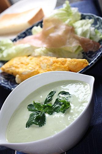 アボガド豆乳スープ