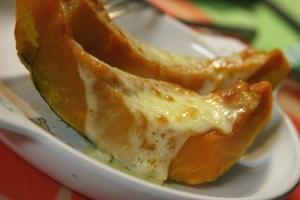 カボチャのステーキ_チーズ味