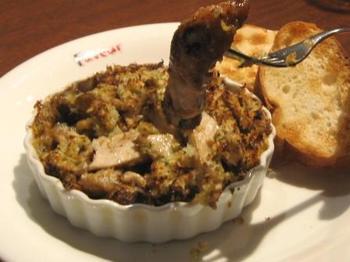 牡蠣のエスカルゴバターオーブン焼き