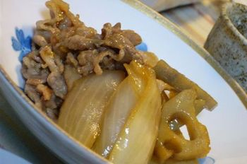 にんにく風味の煮物