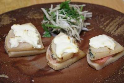 チーズon筍