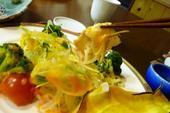 日向鶏のサラダ